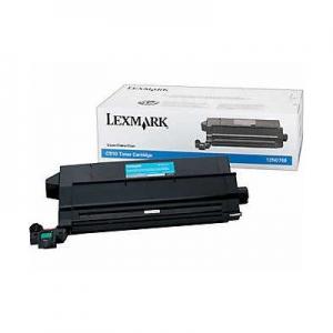 Оригинальный картридж Lexmark 12N0768 (14000 стр., голубой)