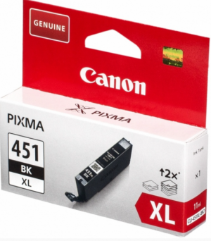 (Акция) Картридж Canon 6472B001 CLI-451XLBK