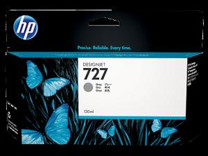 (Акция) Оригинальный картридж HP B3P24A (727) (130 мл., серый)
