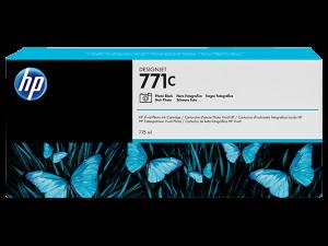 Оригинальный картридж  HP B6Y13A (771с) (775 мл., черный фото)