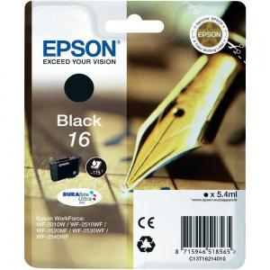 Оригинальный картридж EPSON 16 (175 стр., черный)