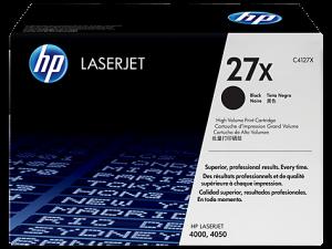 (Уценка) ОРИГИНАЛЬНЫЙ КАРТРИДЖ HP C4127X (10000 СТР., ЧЁРНЫЙ) ДЛЯ HP LASERJET 4000 | 4000N | 4000T | 4000TN | 4000SE | 4050 | 4050N | 4050T | 4050TN | 4050SE | 4050 USB-MAC