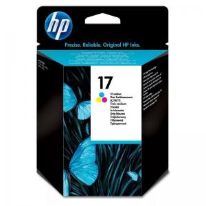 (Уценка)СТРУЙНЫЙ КАРТРИДЖ HP C6625A (17) (ЦВЕТНОЙ, 480 СТР)