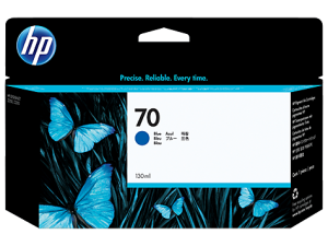 Оригинальный картридж  HP C9458A (70) (130 мл., синий)