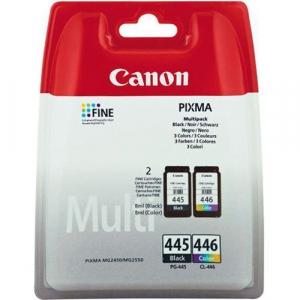 Набор картриджей Canon PG-445/CL-446 (360 стр., черный + цветной)