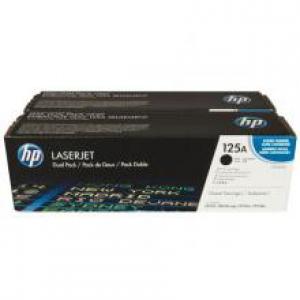 (Уценка) ОРИГИНАЛЬНЫЙ КАРТРИДЖ HP CB540AD (2200 X 2 СТР., ЧЁРНЫЙ) ДЛЯ HP COLOR LASERJET CP1215 / CP1515 / CP1518 / CM1312 / CM1312NFI