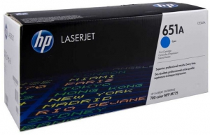 (Уценка) Kартридж HP CE341A НТВ-1 для LaserJet color MFP M775, M775dn, M775f, M775z  голубой  (13 500 стр.)