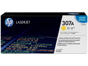 КАРТРИДЖ HP 307A (CE742A) (7300 СТР, ЖЁЛТЫЙ) ДЛЯ HP COLOR LASERJET PROFESSIONAL CP5225 | CP5225N | CP5225DN