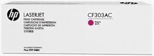 (Уценка) Kартридж HP CF303AC - НТВ-1 для Color LaserJet Enterprise flow M880z+  пурпурный  (32 000 стр.)