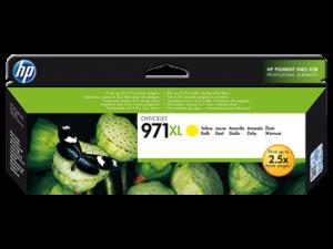 (Акция) Оригинальный картридж HP CN628A (971) (6600 стр., желтый)