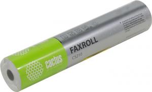 Термобумага для факса CACTUS (CS210) 210мм х 30м