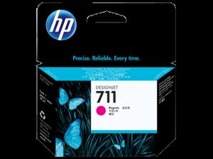 (Акция) Оригинальный картридж HP CZ131A (711) (29 мл., пурпурный)