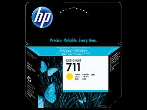 (Акция) Оригинальный картридж HP CZ132A (711) (29 мл., желтый)