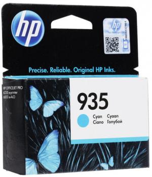 (Уценка) Оригинальный картридж HP C2P20AE (935) (400 стр., голубой)