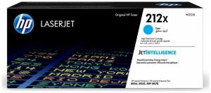 Оригинальный картридж HP 212X повышенной емкости (10000 стр., голубой)