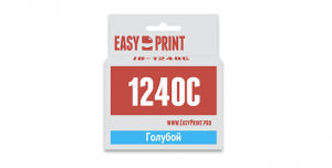 Картридж EasyPrint Brother LC-1240C (IB-1240C) (600 стр., голубой)