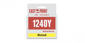 Картридж EasyPrint Brother LC-1240Y (IB-1240Y) (600 стр., желтый)