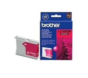 Оригинальный картридж BROTHER LC1000M (пурпурный)