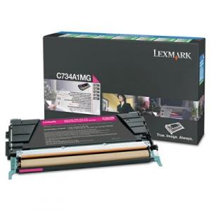 Оригинальный картридж Lexmark X746A1MG (7000 стр., пурпурный)