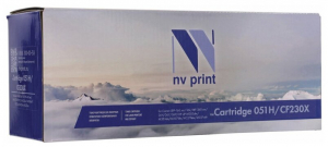 NV-051 Картридж NV Print совместимый NV-051 (Canon 051), 1700 стр., Black