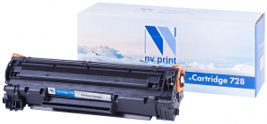 NV-728 Картридж NV Print совместимый Canon 728 для MF4410/MF4430/MF4450 черный (2 100 стр.)