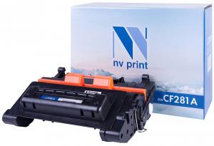 NV-CF281A Картридж NVP совмес. HP CF281A для LJ Enterprise M604dn/n/605dn черный (10 500 стр.)