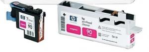 Картридж Hewlett-Packard 90 Ink, Magenta (400 ml)