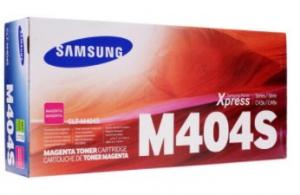 Оригинальный картридж Samsung CLT-M404S/XEV (1000 стр., пурпурный)