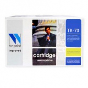 Совместимый картридж Kyocera TK-70 (70000 стр., черный)