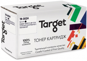 Совместимый картридж Target Canon Cartridge 052 (Чёрный, 9200 стр.)