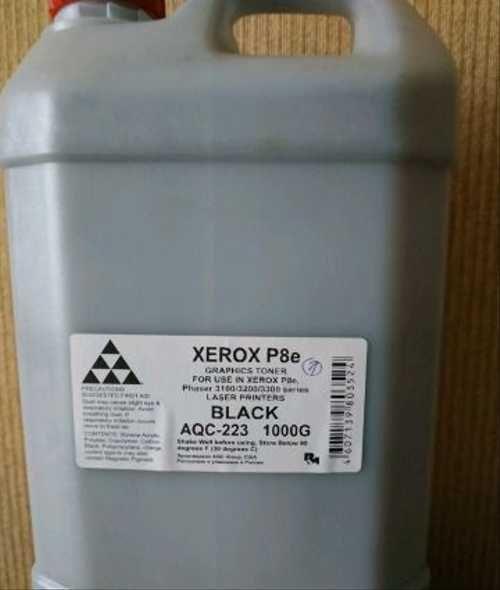 (Уценка)Тонер XEROX Phaser 3x00/31xx/3210/WC3119/4118/M118/PE16/120/220/P8e (к, 1кг) (AQC-США фас России)