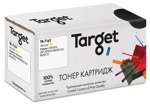 Совместимый картридж Target Cartridge 716Y (Жёлтый, 1400 стр.)