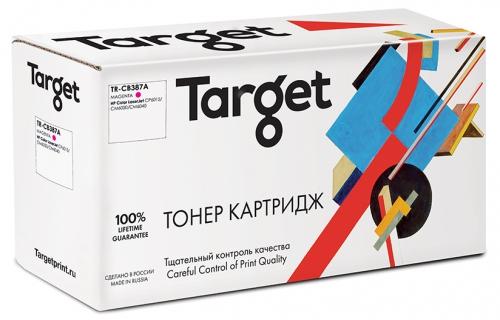 Совместимый барабан Target HP CB387A (№823A) (Пурпурный, 23000 стр)