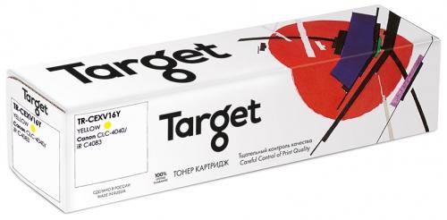Совместимый картридж Target Cartridge C-EXV16Y (Жёлтый, 36000 стр.)