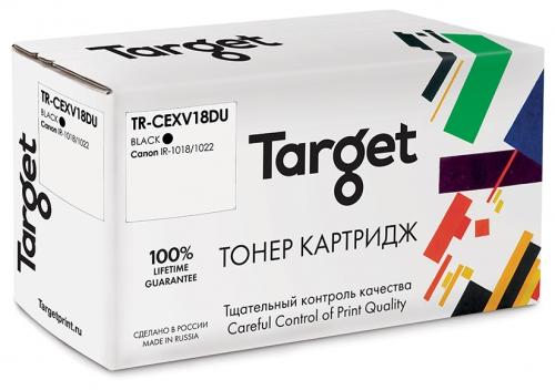 Совместимый барабан Target Canon C-EXV18DU (Чёрный, 26900 стр.)
