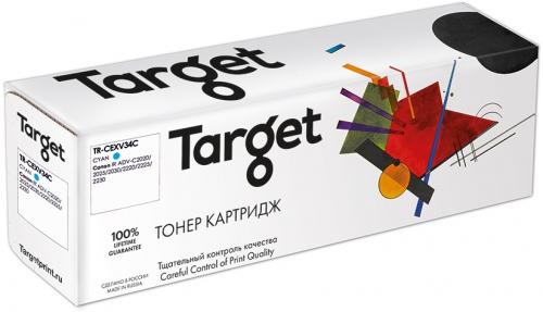 Совместимый картридж Target Cartridge C-EXV34C (Синий, 19000 стр.)
