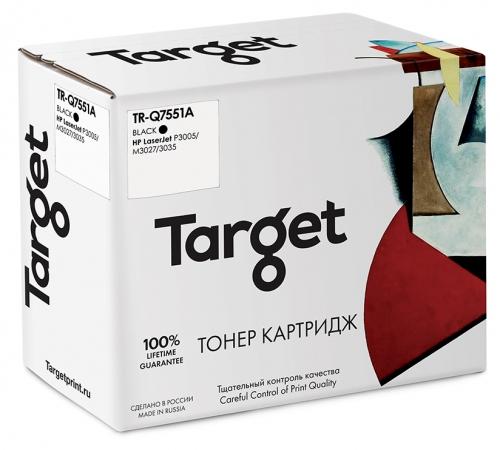 Совместимый картридж Target HP Q7551A (Чёрный, 6500 стр)