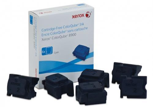 108R01022 - Чернила голубые (6x2,82K) XEROX ColorQ