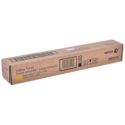 (Уценка)Тонер-картридж Xerox 006R01518 - НТВ-1 для WC 75xx/7830/35/45/55  желтый  (15 000 стр.)